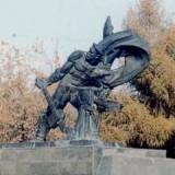 Памятник стрелочнику