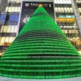 Эмбиэнт-реклама: Рождественская елка из бутылок пива