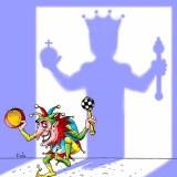 Шут, возомнивший себя королем