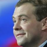 Президент Д. Медведев