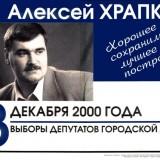 Выборы депутатов пермской городской думы, 2000 год