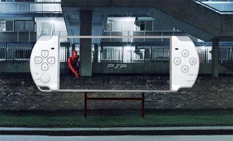 Креативная подделка под рекламу Sony Play Stations