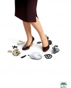 Креативное решение рекламы Аспирина: «Грубые слова»
