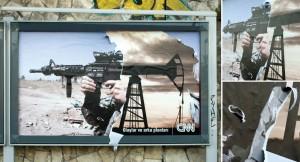 Креативная реклама CNN (война и нефть)