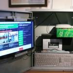 Фоторепортаж с участка, где установлены веб-камеры для наблюдения за голосованием на выборах Президента